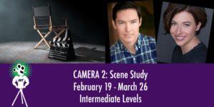 Camera 2, Scene Study, Mighty Tripod Acting Studio, Seattle, actor, training