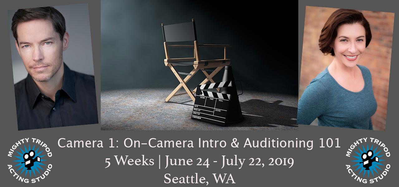 camera 1, acting, class, studio, on-camera, auditioning, intro, beginner